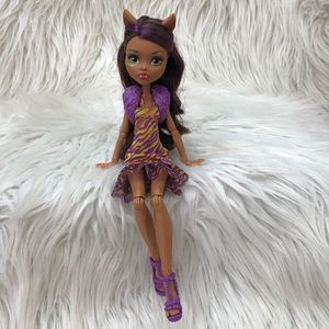 Monster High CLAWDEEN WOLF 'Welcome to MH'